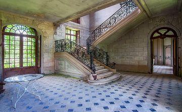 Le château abandonné sur