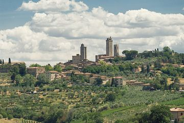 San Gimignano sur Mike Fortgens
