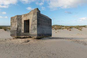 Oude duitse bunker op Terschelling van