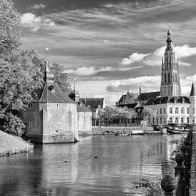 Breda Spanjaardsgat vanaf Prinsenkade van Jean-Paul Wagemakers