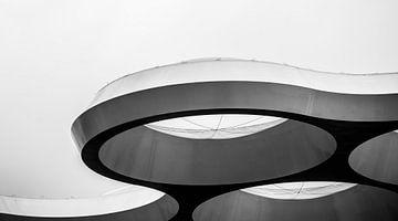Het Bollendak in zwart-wit von De Utrechtse Internet Courant (DUIC)