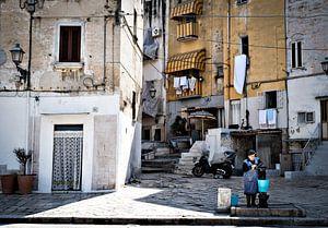 Italiaans stadsgezicht van