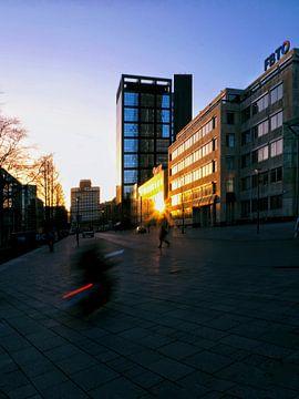 Zons ondergang Leeuwarden van Jorn Idema