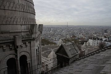 Parijs, Sacré-Coeur van Eric Götze Fotografie