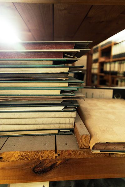 Oude notitieboekjes van Franziska Pfeiffer