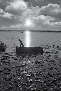 Abend im Wattenmeer Nationalpark von Peter Eckert