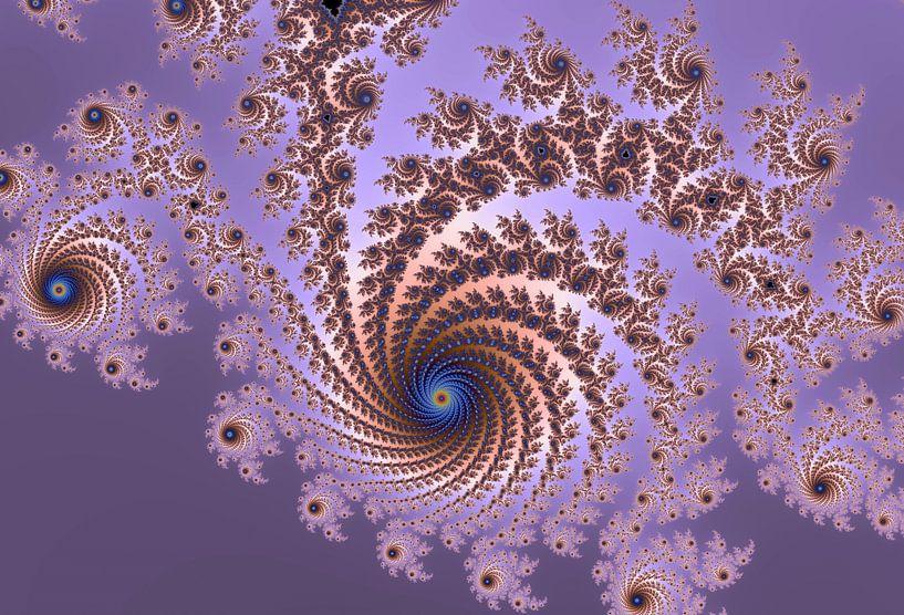 Kleurrijke fractal - Wiskunde - Mandelbrot van MPfoto71