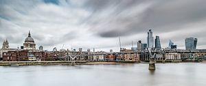 Aan de oevers van de Thames