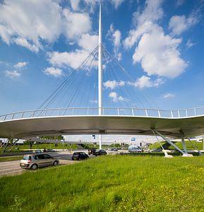 Fietsbrug Hovenring, Eindhoven.