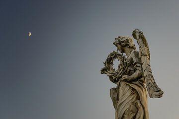 Dornenkrone und der Mond von Sjoerd Mouissie