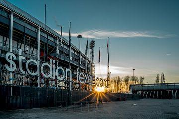 Stadion Feyenoord von Michael van Dam
