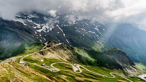 Bergpas Oostenrijk van