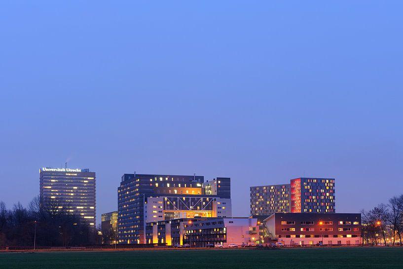 Universiteitscentrum de Uithof in Utrecht van Donker Utrecht