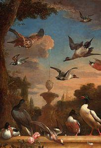 Klassiek tuinlandschap, Melchior d'Hondecoeter van