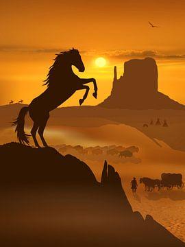 Freiheit für den Mustang von Monika Jüngling