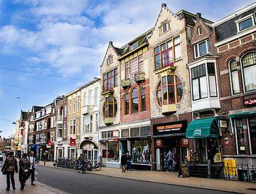 Oude Ebbingestraat van Groningen Stad