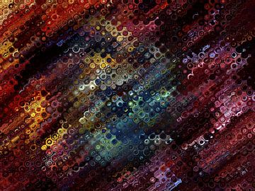 Kleurrijk abstract van Bob Timroff
