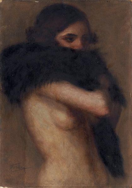 Halbnackt, Štefan Straka - 1922 von Atelier Liesjes