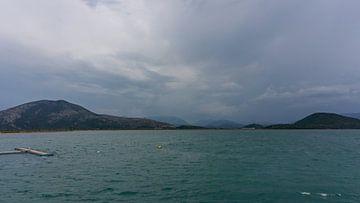 Blue Lagoon Griekenland van Jacco van der Giessen