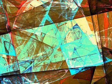 Abstracte samenstelling 457 van Angel Estevez