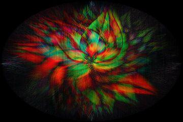 Retorta colorum : Concept abstract van Michael Nägele