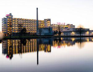Van Nelle fabriek Rottedam by night