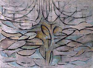 Bloeiende appelboom, Piet Mondriaan