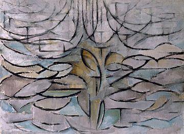 Blühender Apfelbaum - Piet Mondrian von