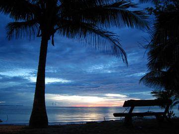 Pulau Tiga Sonnenuntergang von Onne Kierkels