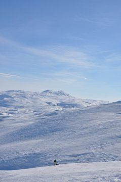 Winterlandschaft von Tjeerd Langstraat