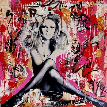 Brigitte Bardot St. Tropez von Michiel Folkers