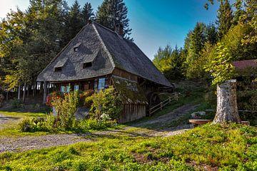 ancien moulin de la Forêt-Noire sur Jürgen Wiesler