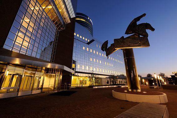 Kantoor Rabobank aan de Croeselaan in Utrecht van  Donker Utrecht