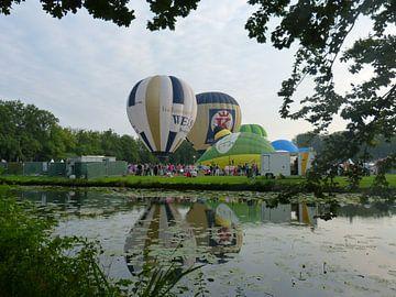Ballonfiesta in Barneveld of the netherlands sur Wilbert Van Veldhuizen