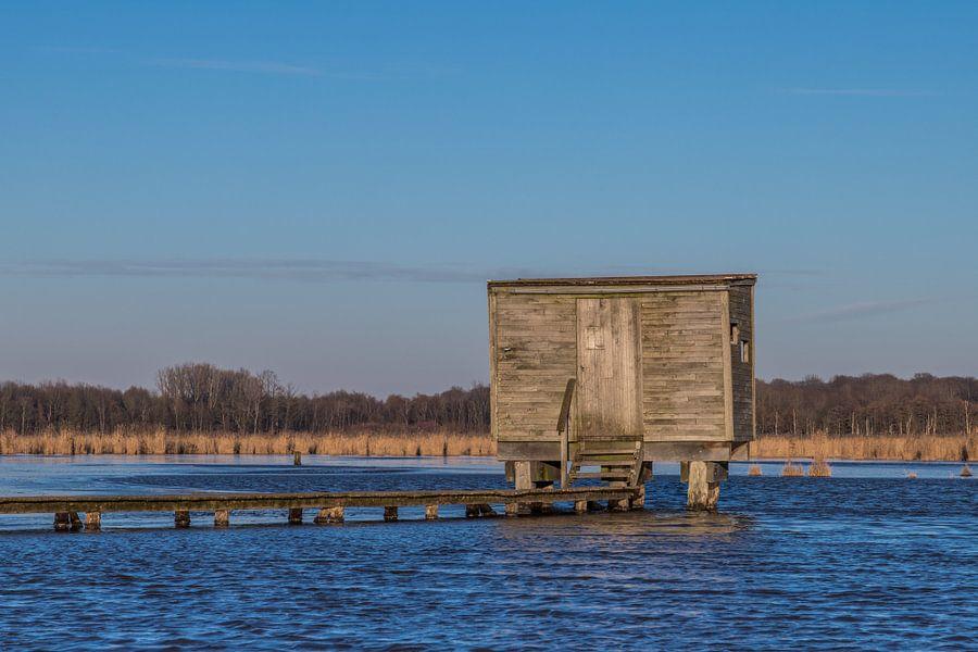 the lonely viewing hut van Koen Ceusters