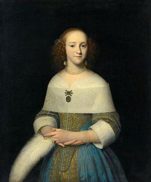 Bildnis einer jungen Frau, Isaack Luttichuys - 1656