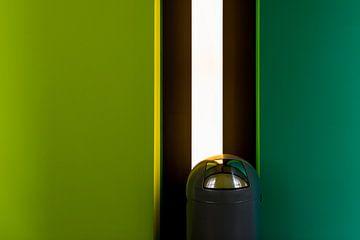 Afvalbak voor groene muur van Maerten Prins