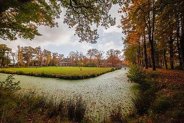 Havezate Landgoed Mensinge Roden tijdens de herfst van R Smallenbroek