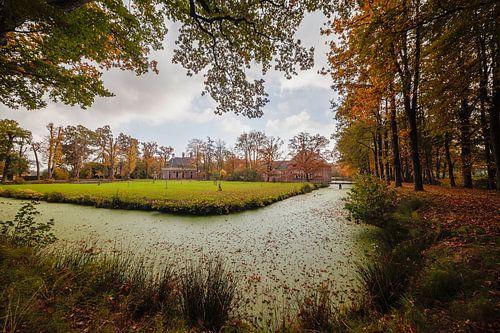 Havezate Landgoed Mensinge Roden tijdens de herfst
