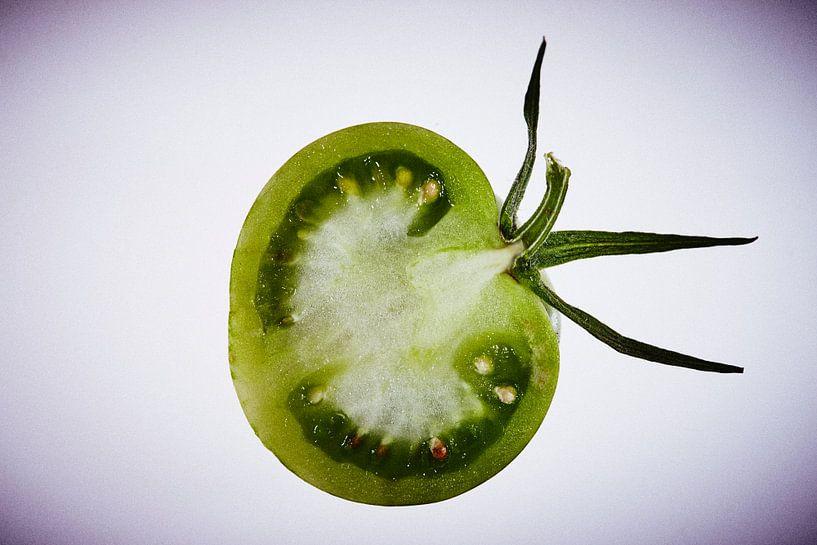 Grüne Tomate van Andreas Gerhardt
