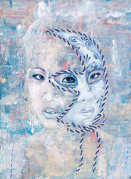 Masker van Anouk Maria van Deursen