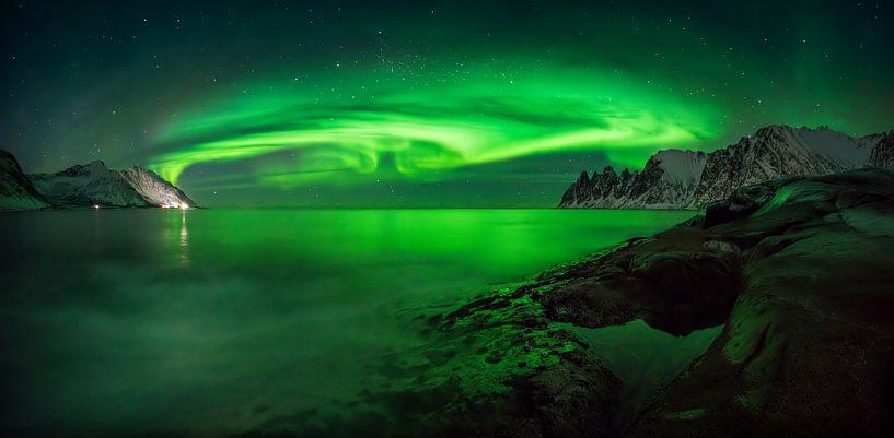 Ersfjord-Aurora von Wojciech Kruczynski