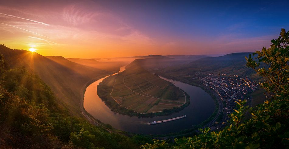 Mossele Sunrise van Dennis Donders