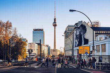 Berlin – Prenzlauer Allee von Alexander Voss