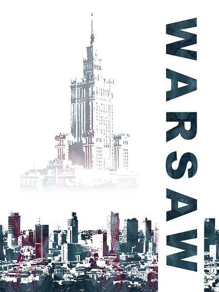 Warschau van Printed Artings