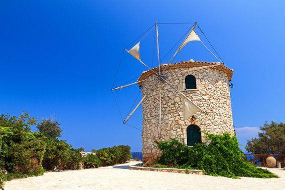Zakynthos windmolen van Dennis van de Water