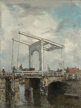 Eine Zugbrücke in einer niederländischen Stadt, Jacob Maris