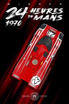 Sieger 24 Heures du Mans 1970 von Theodor Decker