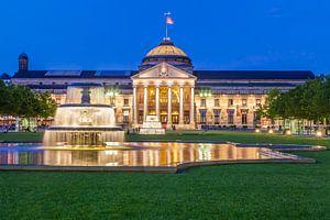 Kurhaus en Casino in Wiesbaden van