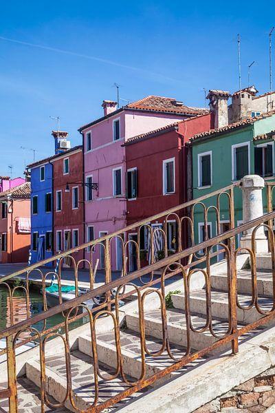 BURANO Colorful Italian Island van Melanie Viola
